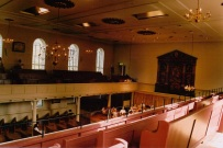 Inside St George's Bristol Although Anglican: it resembles a Baptist chapel