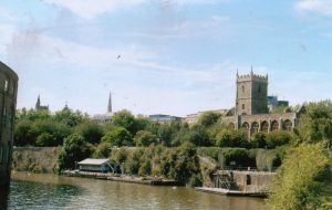 Bristol bombed churches