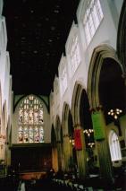 Inside St Stephen's Bristol