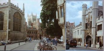 Cambridge chapels