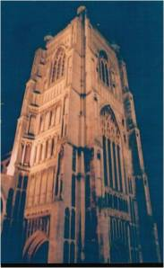 Norwich churches at night6